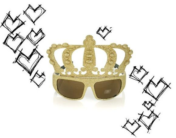 Crazy Crown Glasses