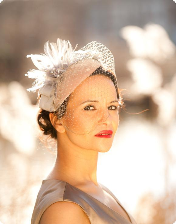 HT Headwear Bridal Accessories by Drew Tommons Photography