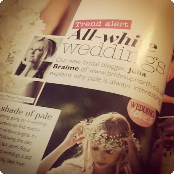 Brides Up North UK Wedding Blog Recent Press