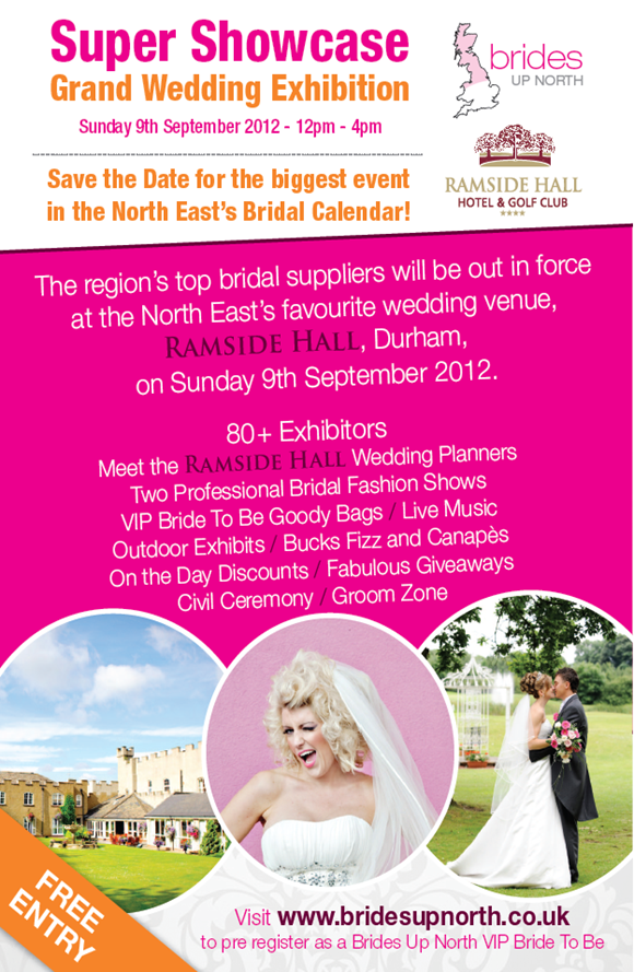 Ramside Hall Hotel Wedding Fair by UK Wedding Blog Brides Up North
