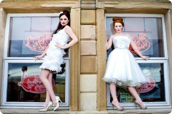1950s Bridal Shoot in the North East by David Hill Photography
