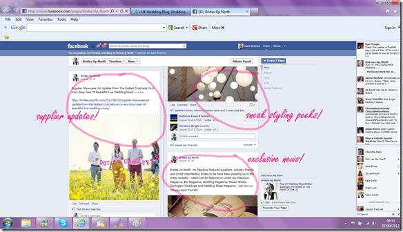 Brides Up North on Facebook