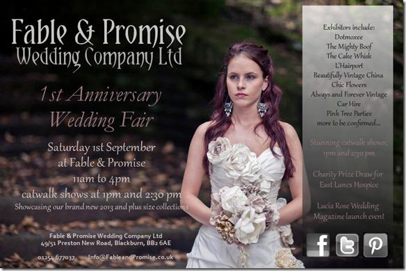 Fable & Promise North West Wedding Fair