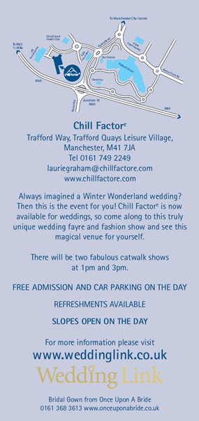 Chill Factor Wedding Fair Manchester