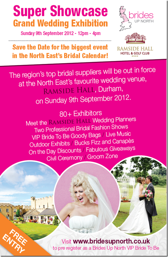 Brides Up North Super Showcase Autumn 2012