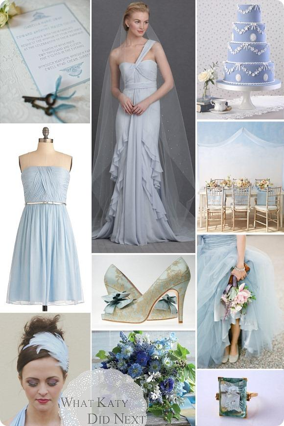 Something Blue Wedding Inspiration