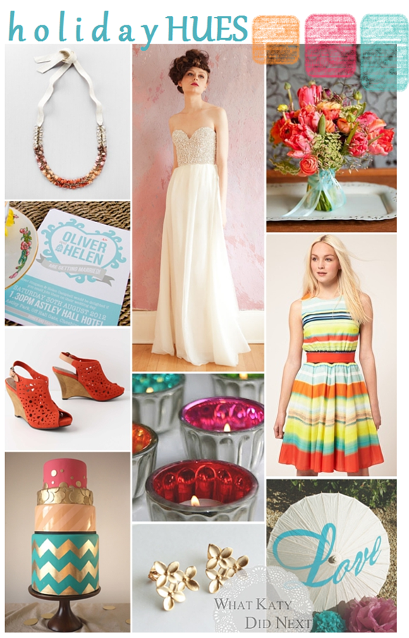 Wedding Inspiration - Summer Holiday