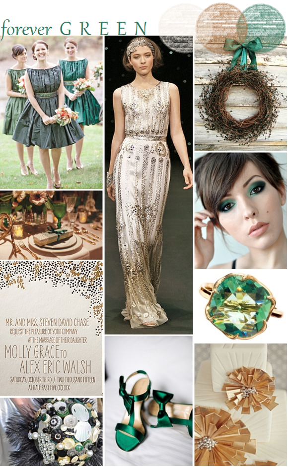 Evergreen Wedding Inspiration