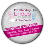 Rise Hall Wedding Exhibition Autumn 2012