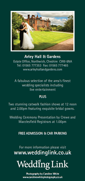 Arley Hall Wedding Fair