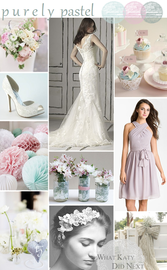 Purely Pastel Wedding Inspiration