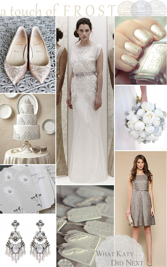 Wedding Inspiration - A Touch Of Frost