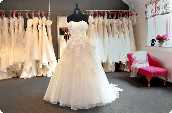 Rocks & Roses Bridal Boutique in North Yorkshire