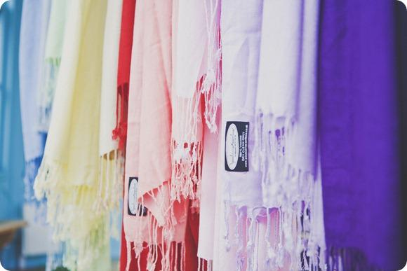 Pashmina Rainbow by India Hobson Weddings